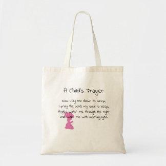 Bolsa Tote A oração de uma criança