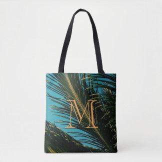 Bolsa Tote A palmeira sae da sacola de M