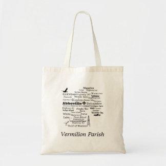 Bolsa Tote A paróquia Vermilion Louisiana coloca a sacola