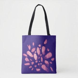 Bolsa Tote A pintura da aguarela afaga a sacola
