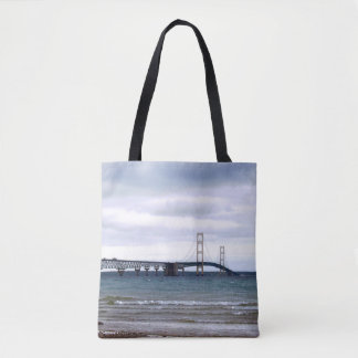 Bolsa Tote A ponte de Mackinac