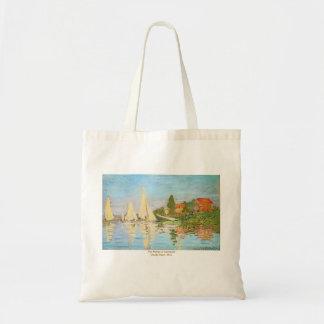 Bolsa Tote A regata em Argenteuil por Claude Monet
