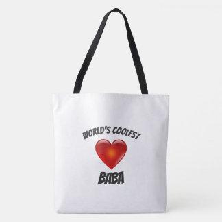 Bolsa Tote A sacola a mais fresca do coração do babá do mundo