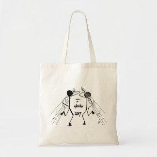 Bolsa Tote A sacola com dois traz-me dançarinos da luz do sol