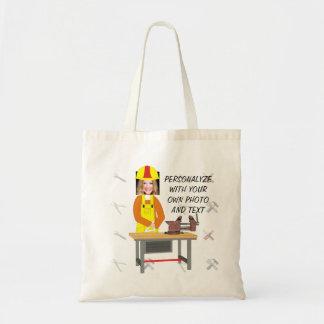 Bolsa Tote A sacola das mulheres - Personalyze com foto e