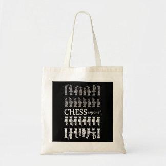 Bolsa Tote A sacola do geek da xadrez. Xadrez qualquer um?