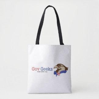 Bolsa Tote A sacola dos geeks do Gov: Eu escolho servir