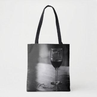 Bolsa Tote A sacola elegante de amante de vinho