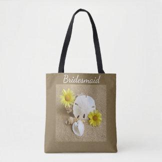Bolsa Tote A sacola para a noiva ou a dama de honra
