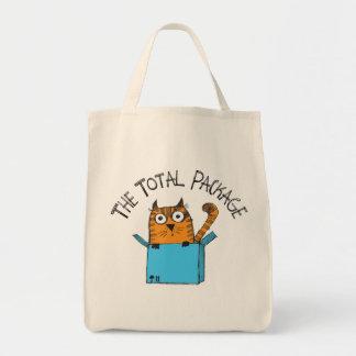 Bolsa Tote A sacola total do pacote
