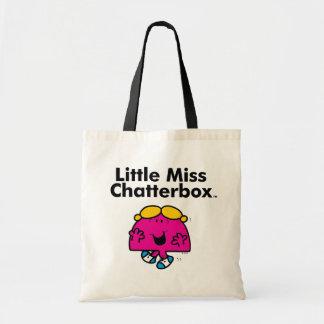 Bolsa Tote A senhorita pequena pequena Chatterbox da