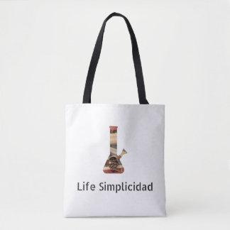 Bolsa Tote A vida Simplicidad Jesus Bong