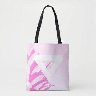 Bolsa Tote Abacaxi - sacola cor-de-rosa