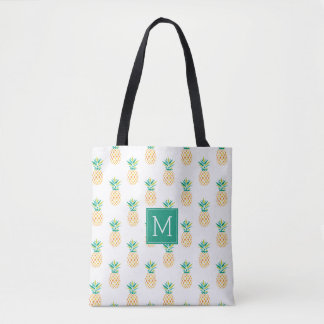 Bolsa Tote Abacaxis Monogrammed