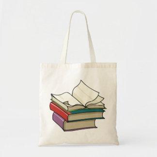 Bolsa Tote Abra a sacola do livro
