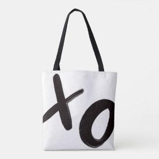 Bolsa Tote Abraços & sacola dos beijos XO