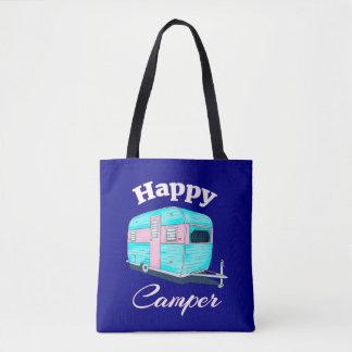 Bolsa Tote Acampamento do reboque de campista feliz