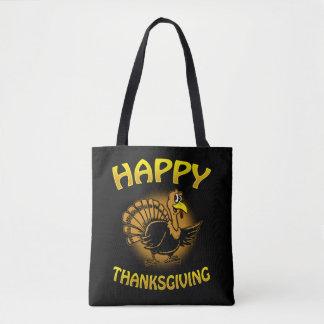 Bolsa Tote Acção de graças feliz
