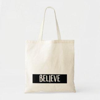 Bolsa Tote Acredite - o saco de compras