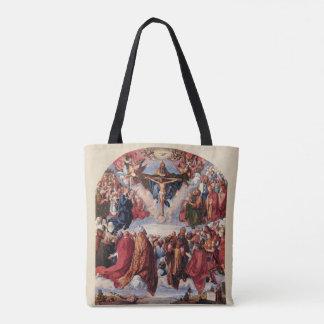 Bolsa Tote Adoração da trindade por Albrecht Durer, 1511