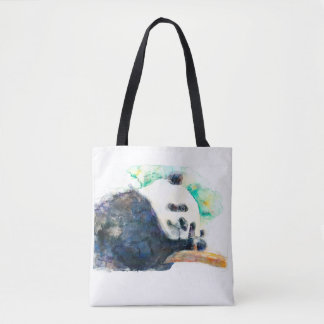 Bolsa Tote Aguarela da panda