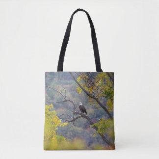Bolsa Tote Águia americana no outono