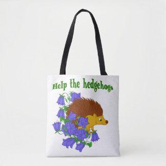Bolsa Tote Ajude os ouriços
