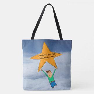 Bolsa Tote Alcance para a sacola das estrelas