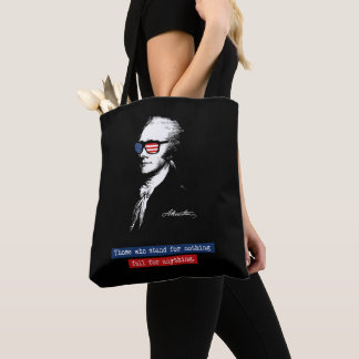 Bolsa Tote Alexander Hamilton aqueles que representam nada