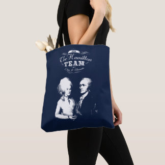 Bolsa Tote Alexander Hamilton, Eliza. Presentes da história.