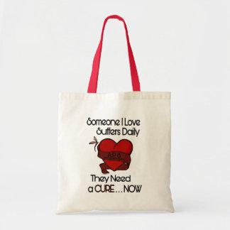 Bolsa Tote Alguém coração do amor de I…/fita… APS