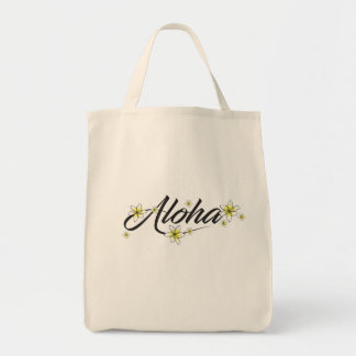 Bolsa Tote Aloha sacola do mantimento