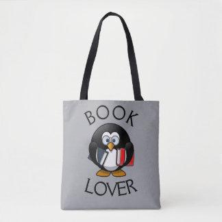 Bolsa Tote Amante de livro -- Sacola do desenhista