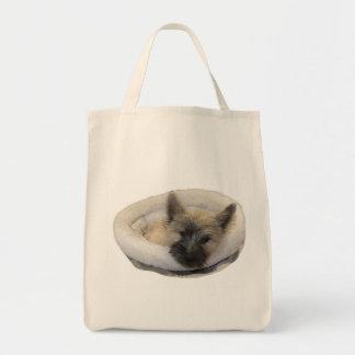 Bolsa Tote Amante do filhote de cachorro