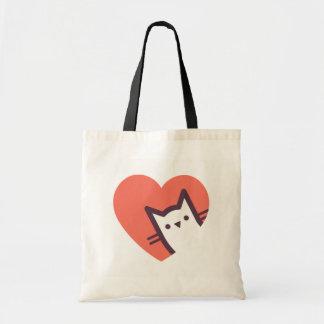 Bolsa Tote Amante do gato