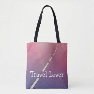 Bolsa Tote Amante do viagem, sacola dos desenhistas