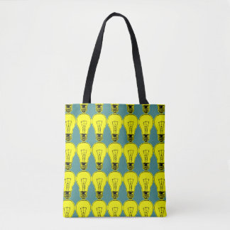 Bolsa Tote Amarelo da lâmpada