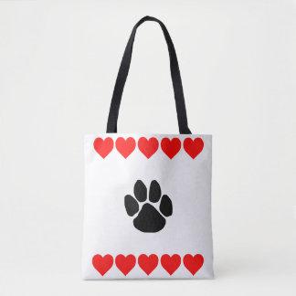 Bolsa Tote Ame seu animal de estimação