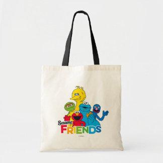 Bolsa Tote Amigos do sésamo do Sesame Street |