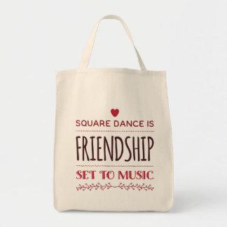 Bolsa Tote Amizade ajustada à música