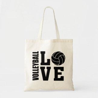 Bolsa Tote Amor do voleibol, voleibol