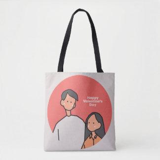 Bolsa Tote Amor (feliz dia dos namorados)