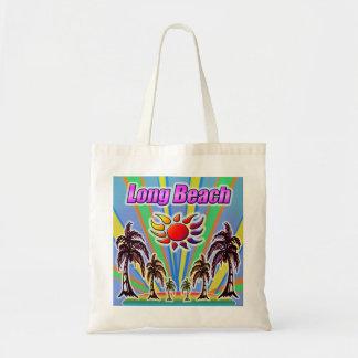 """Bolsa Tote Amor """"sacola """" do verão de Long Beach"""