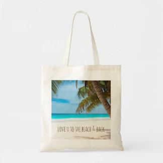 Bolsa Tote Amor U à praia & à parte traseira