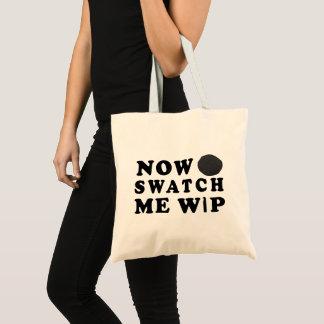 Bolsa Tote Amostra de folha mim WIP - + do artesanato do fio