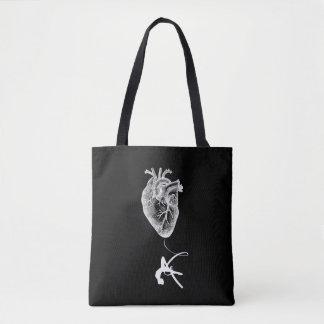 Bolsa Tote Anatomia do coração - acrobata aérea