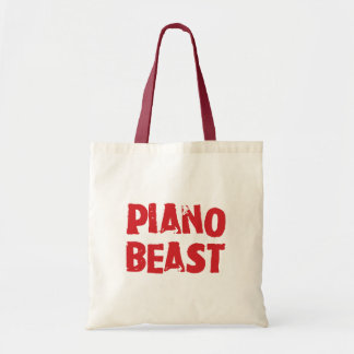 Bolsa Tote Animal Totebag do piano