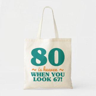 Bolsa Tote Aniversário Sassy do 80