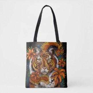 Bolsa Tote Ano chinês do tigre