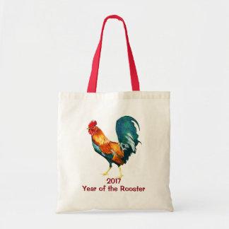 Bolsa Tote Ano novo chinês da sacola 2017 do galo